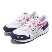 Asics 休閒鞋 Gel-Lyte 白 深藍 桃紅 復古 慢跑鞋 亞瑟士 女鞋 【ACS】 1193A092100