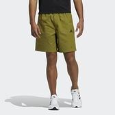 Adidas Fi Short Aop [GP0947] 男 短褲 運動 休閒 舒適 透氣 拉鍊口袋 芥末綠