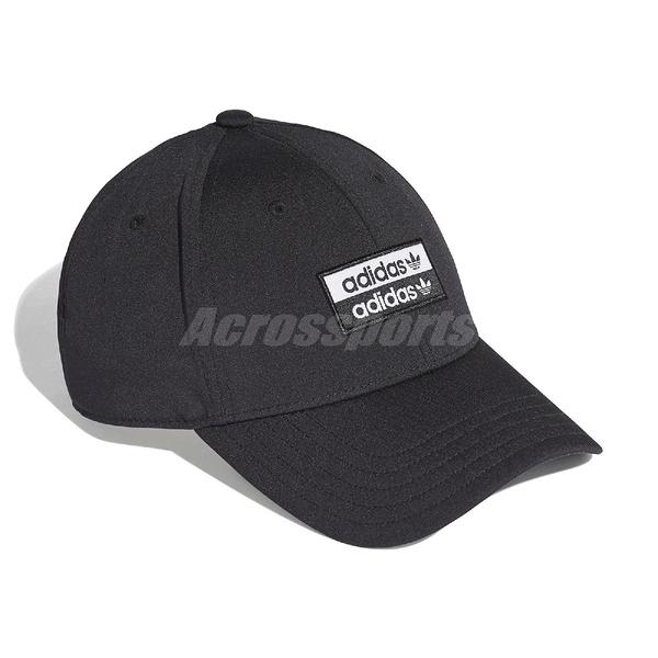 adidas 帽子 R.Y.V. Baseball Cap 黑 白 男女款 棒球帽 【PUMP306】 ED8016