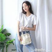 中國風仙女小斜挎包漢服手提袋古風包包女2019新款流蘇抽繩單肩包 西城故事