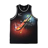 Nike 球衣 DNA Premium Jersey 黑 彩 男款 球衣 塗鴉 運動休閒【ACS】 DJ5217-010