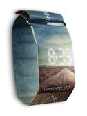 紙手錶德國紙質手錶黑科技概念男款女學生電子潮流紙質創意個性潮流錶 科技藝術館