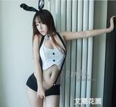 情趣內衣制服可愛兔女朗貓女服露背小胸性感透視耳朵激情套裝sm騷『艾麗花園』