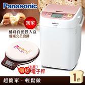 贈電子秤+儲物罐★Panasonic國際牌 SD-BH1000T One Touch 全自動製麵包機