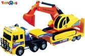 玩具反斗城 挖土機和運輸車組