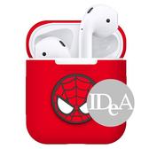 現貨 Apple AirPods 復仇者聯盟 藍芽耳機保護套 收納套 保護殼 蜘蛛人 鋼鐵人 美國隊長air pods