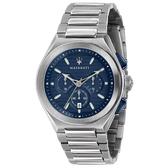 【台南 時代鐘錶 MASERATI】台灣公司貨 瑪莎拉蒂 TRICONIC系列 R8873639001 三眼計時腕錶 43mm