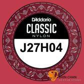 【缺貨】Daddario J27H04 單弦第四弦 高張力古典吉他弦 單一弦【第4弦/D弦】