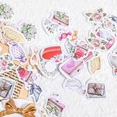 【BlueCat】薇薇安的莊園 盒裝貼紙 (46枚入) 手帳貼紙 貼紙