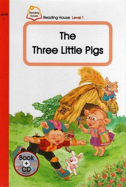 (二手書)【THE THREE LITTLE PIGS-READING HOUSE 1 B+CD】