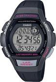 附台灣卡西歐保卡才是公司貨【時間光廊】CASIO 卡西歐 跑步錶 計步器 200組圈速記憶 LWS-2000H-1A