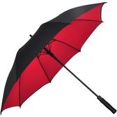 PEJAFAN雨傘長柄男女大號三雙人晴雨兩用自動加固防風廣告定制傘