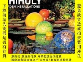 二手書博民逛書店Chihuly罕見Garden Installations Postcard Set: Set of 32 Pos