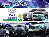 【專車專款】10~18年Hyundai IX35專用10吋觸控螢幕安卓多媒體主機*藍芽+導航+聲控+安卓6.0