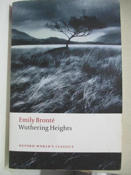 【書寶二手書T1/原文小說_A78】Wuthering Heights_Bronte, Emily/ Jack
