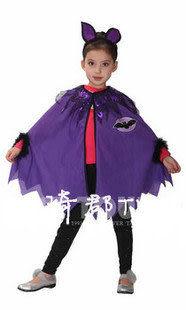 COS萬聖節服裝 紫色小女巫