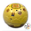 增益壇城寶瓶爐13型(黃色)大 【 十方佛教文物】