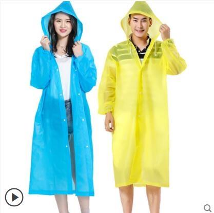 雨衣外套男女加厚透明成人便攜式防水徒步戶外旅游 - 風尚3C