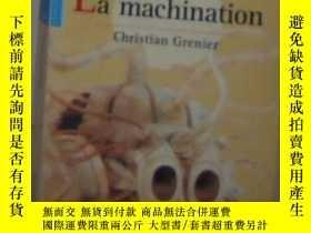 二手書博民逛書店法語原版罕見La machination de Christia