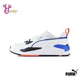 PUMA童鞋 男童運動鞋 大童 運動鞋 跑步鞋 球鞋 記憶鞋墊 穿搭 女鞋可穿 X-RAY 2 SQUARE JR K9533#白藍