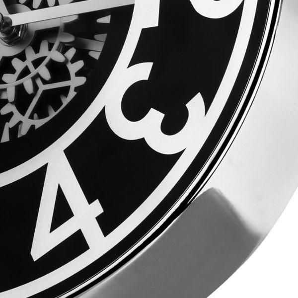 帝易達鐘表 圓形掛鐘客廳時尚創意藝術電子時鐘機械裝飾石英鐘  SSJJG【慶新年全館免運】