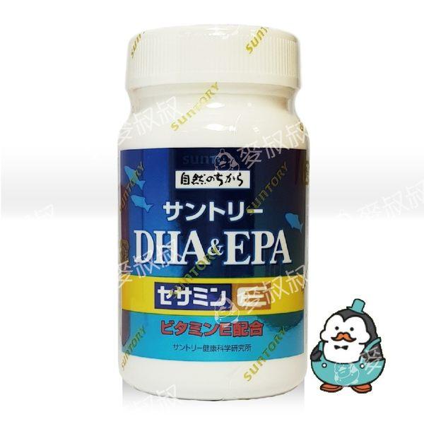 三得利 魚油 DHA&EPA+芝麻明E 120錠# SUNTORY 317021