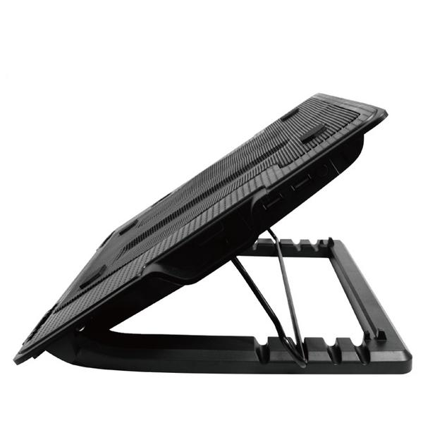 S607 筆電散熱座 五段升降式筆記型電腦散熱風扇底座