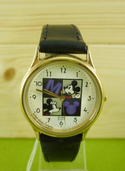 【震撼精品百貨】米奇/米妮_Micky Mouse~手錶-黑藍
