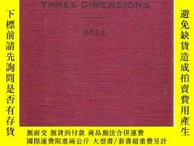 二手書博民逛書店COORDINATE罕見GEOMETRY OF THREE DI