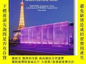 二手書博民逛書店Temporary罕見Architecture Now!Y255562 Philip Jodidio Bene