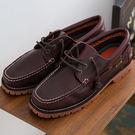 男款 GECKO STEP 基本系列 雷根大底 雷根鞋 帆船鞋 休閒鞋 情侶鞋 咖啡款 59鞋廊