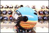 [中壢安信]ZEUS 瑞獅 ZS-210C 210C DD51 線條 水藍 復古帽 半罩 安全帽 飛行帽 高C/P值