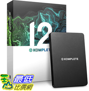[8美國直購] 暢銷軟體 Native Instruments Komplete 12 Software Suite B07GY7ST48