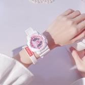 手錶女ins風獨角獸電子錶可愛學生運動 青山市集