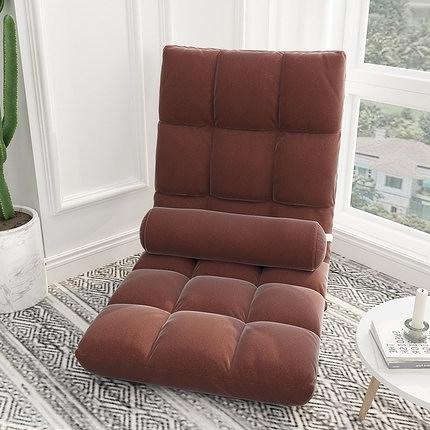 懶人沙發 懶人沙發榻榻米床上靠背椅子女生可愛臥室單人飄窗小沙發折疊椅子