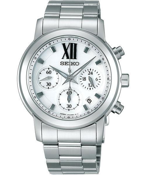【僾瑪精品】SEIKO LUKIA 星光閃耀 太陽能 羅馬時尚 經典計時腕錶-36mm V175-0AC0S(SSVS001J)