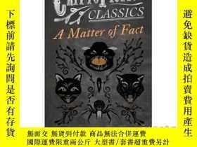 二手書博民逛書店A罕見Matter of Fact (Cryptofiction Classics -...-事實上(密碼小說經典