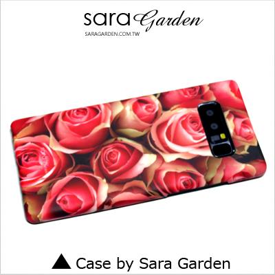 客製化 手機殼 三星 Note8 A3 A5 A7 A8 A9 保護殼 浪漫玫瑰花