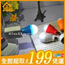 ✤宜家✤新款LED迷你USB燈泡 筆電小夜燈 行動電源照明燈 USB泡泡燈
