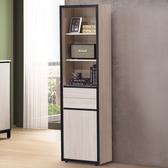 書櫃《YoStyle》費羅尼1.8尺書櫃 置物櫃 展示櫃 收納櫃 工業風 專人配送