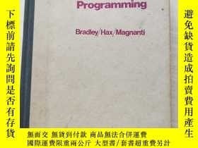 二手書博民逛書店Applied罕見Mathematical Programmin
