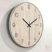 掛鐘家用現代簡約鐘錶客廳掛鐘創意臥室北歐美式時鐘掛錶靜音個性裝飾XW(1件免運)