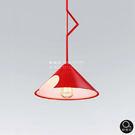 吊燈★創意造型 透透風時尚紅吊燈 單燈✦燈具燈飾專業首選✦歐曼尼✦