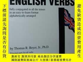 二手書博民逛書店英文原版書罕見501 English Verbs: Fully