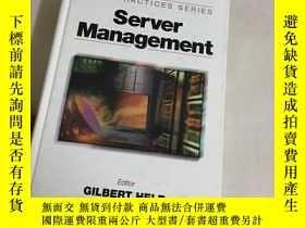 二手書博民逛書店Server罕見ManagementY13534 Held, G