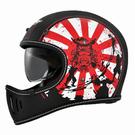 【東門城】M2R MX2 SV#8 (消光黑紅) 全罩式安全帽 山車帽 內墨鏡片