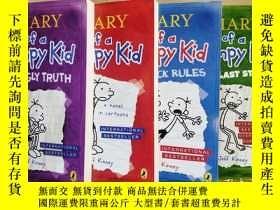 二手書博民逛書店Diary罕見of a Wimpy Kid、 The Last