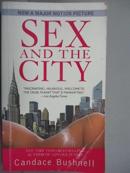 【書寶二手書T5/原文小說_IMN】Sex And the City_Candace Bush