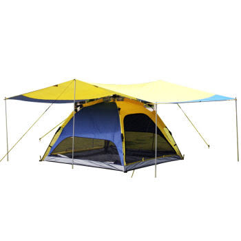 [UF72戶外露營]東方駱駝系列 大號露營天幕帳篷 內帳+天幕 遮陽篷車頂篷 R03