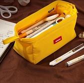 筆袋 簡約女筆袋小學生日系中學生大容量網紅文具盒【快速出貨八折鉅惠】